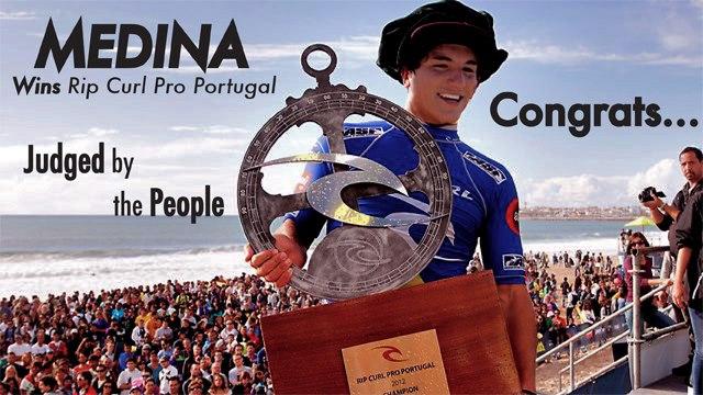 Gabriel Medina_Wins Rip Curl Pro Portugal