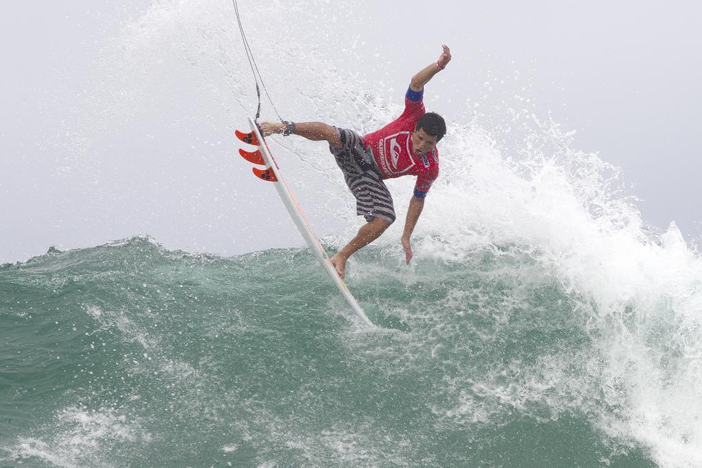 Adriano de Souza no Quiksilver Pro. Austrália 2012.