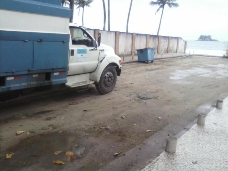 Rua das Acácias após o reparo solicitado