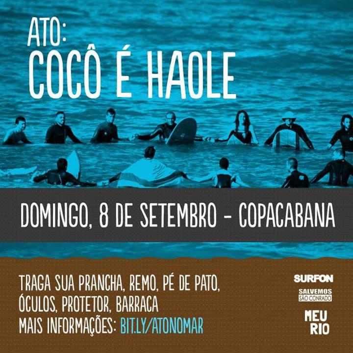 Ato: Cocô é Haole
