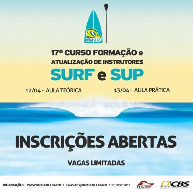 17ª edição do Curso de Formação e Atualização de Instrutores de Surf