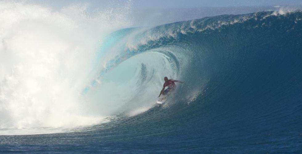 Kelly Slater em Fiji 2013 Foto: ASP