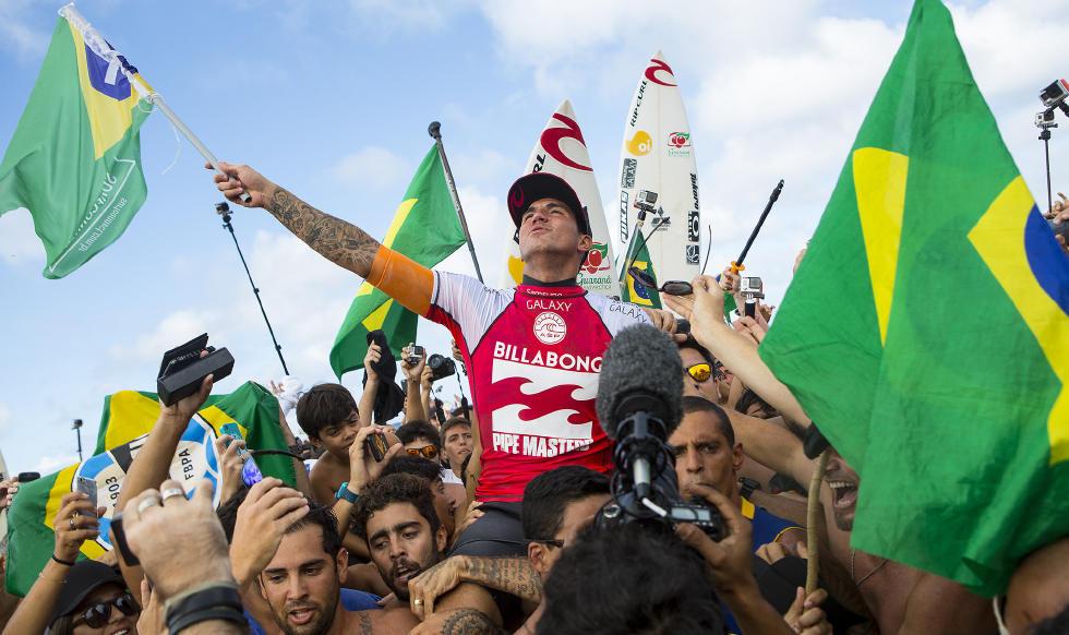 Gabriel Medina Campeão Mundial de Surf 2014
