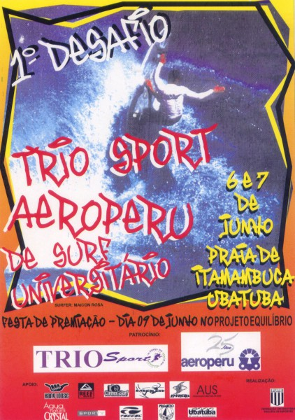 Trio Sport Aeroperu - 1998