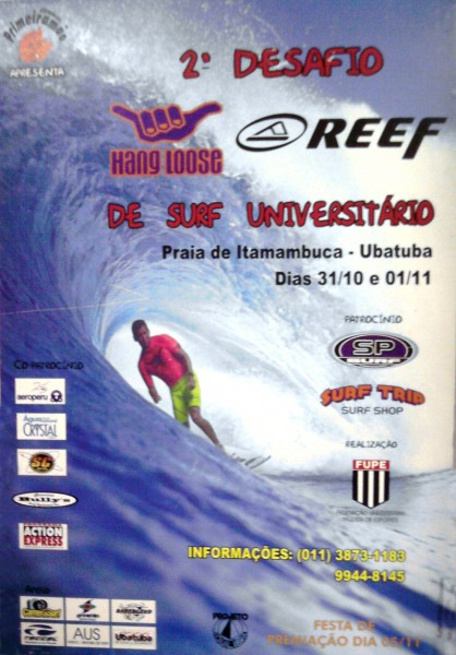 Desafio de Surf Universtiário - 1998