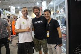 Ale Zeni (CEO do Ibrasurf), Eduardo da Silveira (Escola Surfistas para Sempre) e João Carlos Godoy (blog Surfista Paulistano)