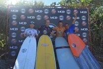 Podio Long Surf Trip SP Contest Camburi Foto Munir El Hage.