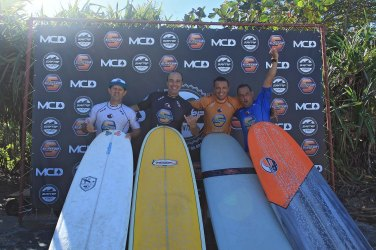 Podio Long Surf Trip SP Contest Camburi Foto Munir El Hage.